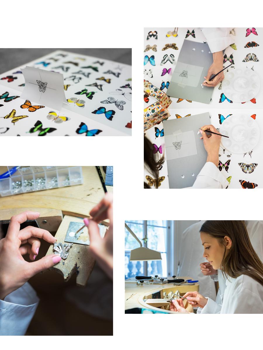 LECOLE Van Cleef Arpels The Art of Jewelry Making Pari Dust